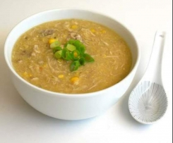 Easy Chicken and Sweet Corn Soup