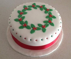 Christmas Cake (Gluten, Dairy and Refined Sugar Free)