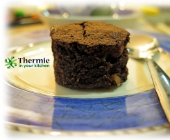 Gluten Free choc hazelnut brownies