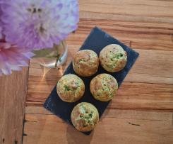 Herby Ricotta & Courgette Muffins