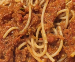 Ange's light bolognese
