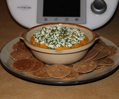 Roast Garlic & Butternut Pumpkin 'Hummus'