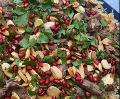 Rima's Chefitup Maryam Mounajed's Lamb Shank Mansef