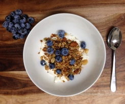 Maple Roasted Nut Museli/Granola - Paleo