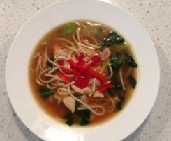 Chicken Soup with Bok Choy