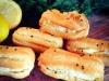 Savoury Eclairs filled with Smoked Salmon, Dill and Horseradish Cream