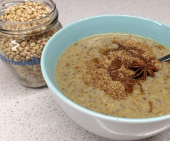 Chai Buckwheat Porridge