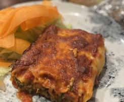 Chicken Pumpkin and Spinach Cannelloni
