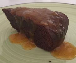 Dark Chocolate Cake with Cumquats