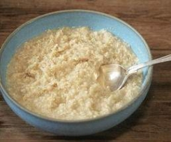Easy honey porridge
