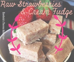 Strawberries & Cream Fudge