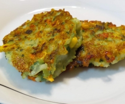 HUNTERS Potato & Veggie Fritters