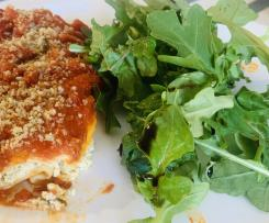 Vegan Tofu Ricotta Lasagna Roll Ups