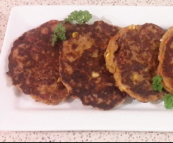 Leftover Lamb Fritters
