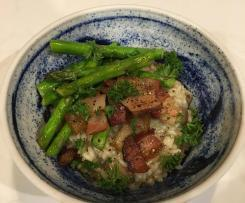 Mushroom and Pancetta Risotto