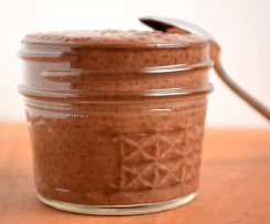 Chocolate & Avocado Chia Pudding
