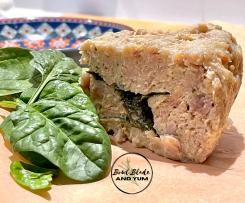 Cheese and Spinach Chicken Loaf