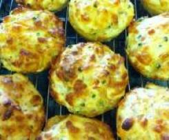 Ham & Cheese Muffins