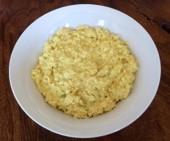 LCHF Chicken and Egg Salad Blend