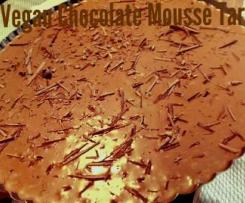 Vegan Chocolate Mousse Tart