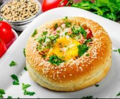 Omelet In A Bun