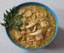 Seafood Marinara Risotto