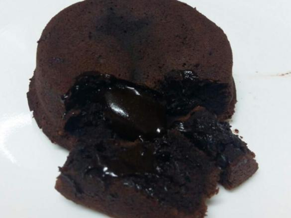 Dark Chocolate Lava Cake By Hsiaochoon A Thermomix Sup Sup