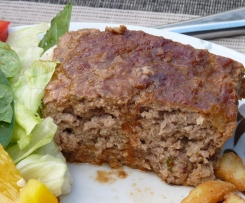 Meatloaf with Tangy BBQ Sauce