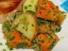 HUNTERS Bacon & Mustard Sweet Potato Salad