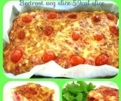 beetroot veg fetta slice 60cal per serve