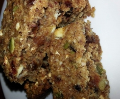 Clone of Wheat, nut & dairy-free muesli slice/ bars suitable for Paleo