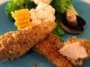 Cheesy Garlic Chicken Strips