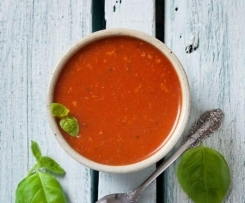 Roasted Tomato & Red Pepper (Capsicum) Soup