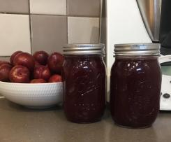 Plum and Raspberry Jam
