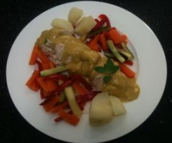 Curry and Garlic Chicken