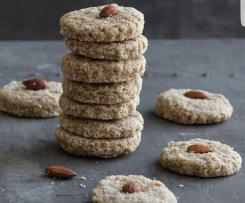 Raw tahini coconut biscuits - ThermoSize Your Life