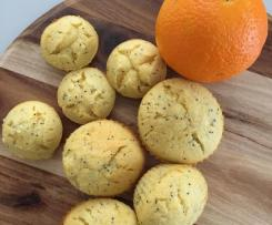 Orange & poppyseed muffins