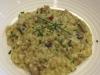 Portobello mushroom and pancetta risotto