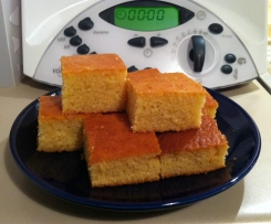 Cornbread - moist and sweet