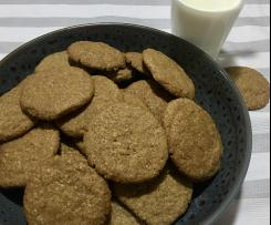 Biscoff Oatmeal Biscuits