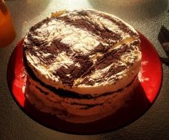 Oreo and Vanilla Bean Ice-Cream Cake
