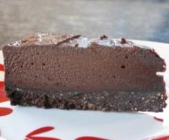 Chocolate Cashew cheese cake style slice. - Dairy free, Gluten Free, Alternative Sweetner