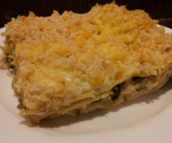 Spinach and Tuna Lasagne