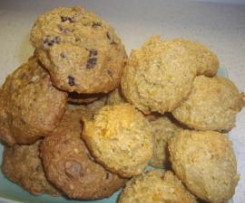 Choc Chip Oat Cookies