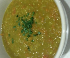 MOROCCAN STYLE RED LENTIL SOUP