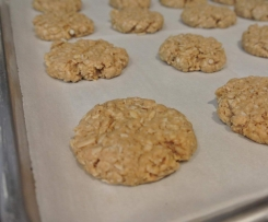 Anzac Biscuits, Oat Cookies