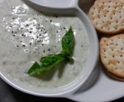 Pesto - Yogurt Dip