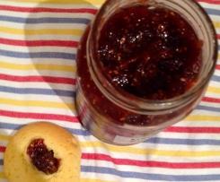 Fig, Apple & Raspberry Jam (low sugar)