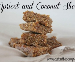 Apricot and Coconut slice from COTC