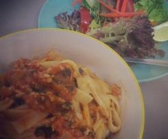 Healthy Chicken Spaghetti Bolognaise